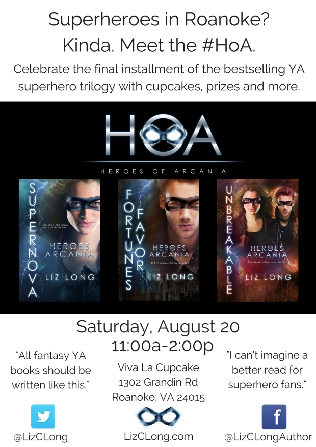 HoA Book Signing Flyer